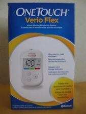 """ONE TOUCH VERIO FLEX BLOOD GLUCOSE MONITORING SYSTEM """"BRAND NEW"""" EXP 02/18"""