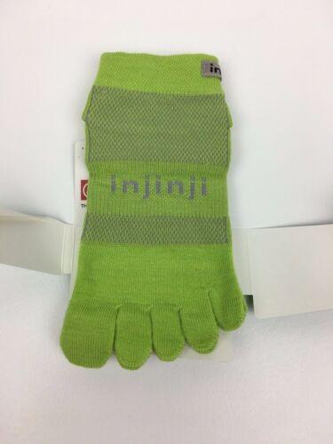 Injinji Toe Socks Micro Length Performance 2.0 Outdoor Green Size Small 6 ea