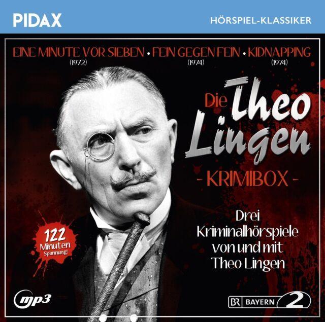 Die Theo Lingen Krimi-Box * CD Drei Krimihörspiele MP3-CD Pidax