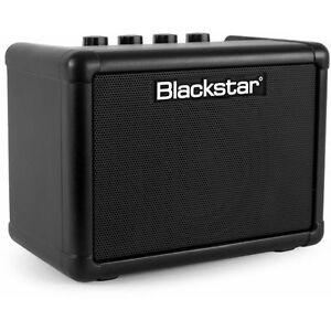 Ambitieux Blackstar Fly3 Mini Amp 3 W En Noir Comme Neuf/très Peu Utilisé-afficher Le Titre D'origine Avec Le Meilleur Service