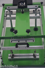 Manual screen cylinder printing machine for bottle/cup/pen surface curve press