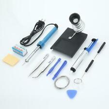 14in1 110v 30w Electric Soldering Iron Kit Rework Solder Iron Desoldering Pump