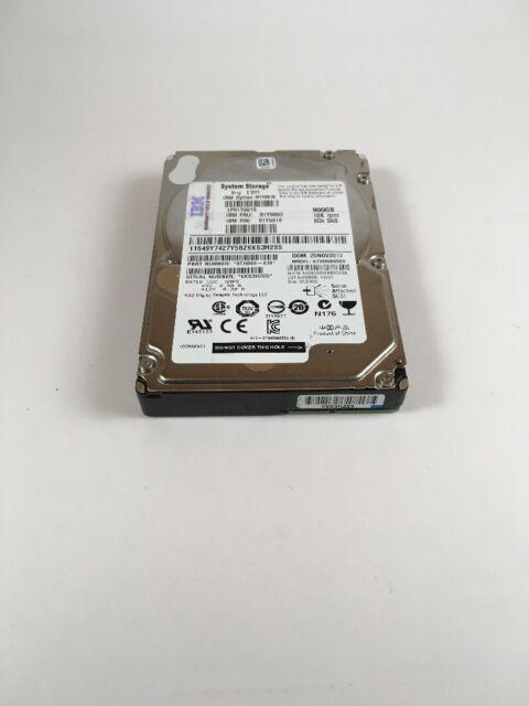 81Y9915 IBM 81Y9893 900 GB 10K 6GBPS 2.5' NL SAS HARD DRIVE