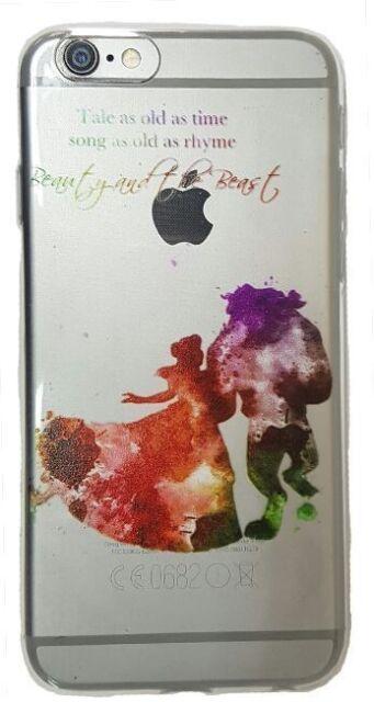 Cover Iphone 6 6S 7  La Bella e la Bestia