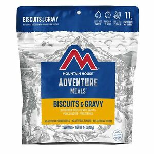 Mountain House Biscuits & Gravy | Freeze Dried Backpacking ...
