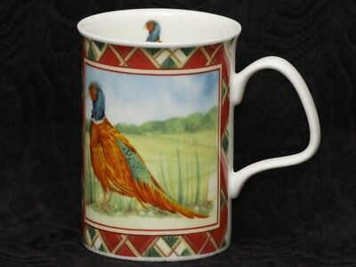 ROY KIRKHAM GAME BIRDS Fine Bone China LANCASTER Mug #1a Pheasant /& Spruce