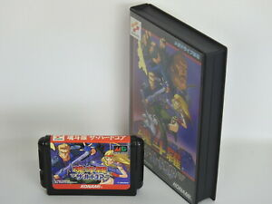 Mega-Drive-CONTRA-THE-HARD-CORPS-No-Instruction-040-Free-Shipping-Sega-md