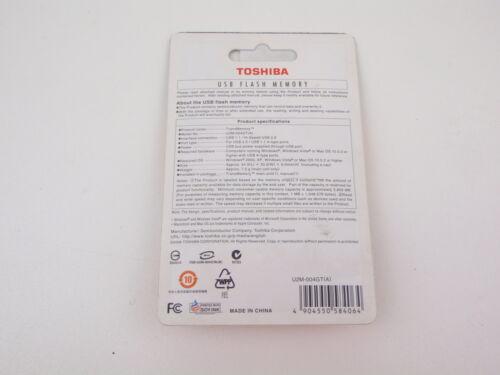 TOSHIBA U2M-004GT USB USB FLASH MEMORY 4GB NEW A