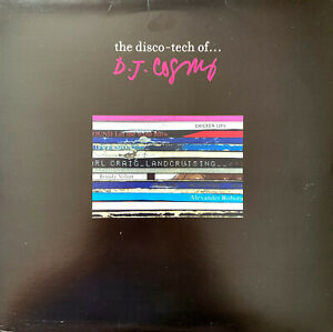 D-J-Cosmo-2xLP-The-Disco-Tech-Of-France-VG-M