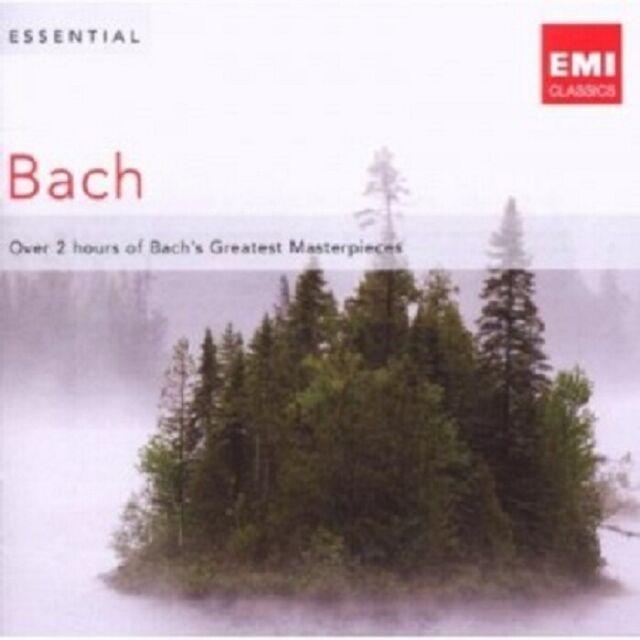 ESSENTIAL BACH; JOHANN SEBASTIAN BACH 2 CD 31 TRACKS POPULAR CLASSIC NEU