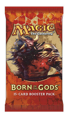MTG Magic The Gathering Born of the Gods Factory Sealed Booster Pack Lot x4