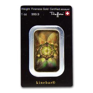 1-oz-Gold-Bar-Argor-Heraeus-KineBar-Design-In-Assay-SKU-67496