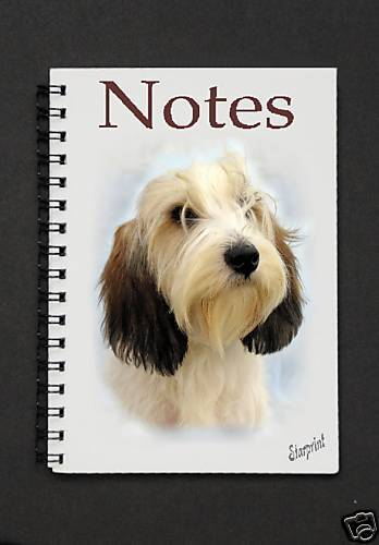 Petit Basset Griffon Vendeen Notepad  By Starprint