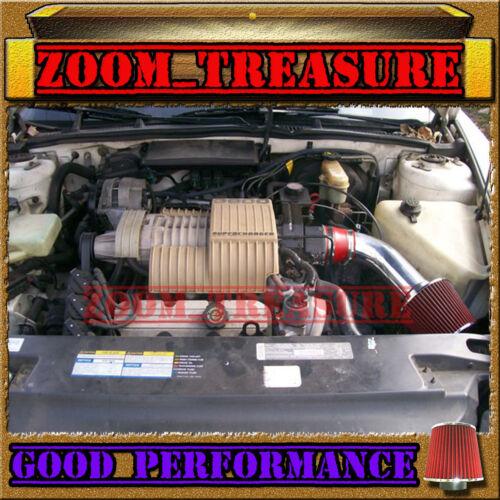 RED 1992-1995//92 93 94 95 BUICK LESABRE LE SABRE 3.8 3.8L V6 AIR INTAKE