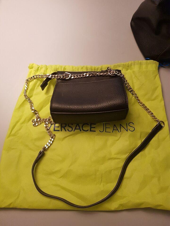 Crossbody, Versace, læder