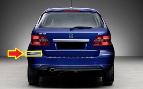NUOVO Originale Mercedes Benz MB Classe B W245 RESTYLING PARAURTI POSTERIORE Chrome Trim SINISTRO