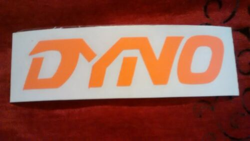 Old School BMX White // Black // Orange Dyno Transfer Decals