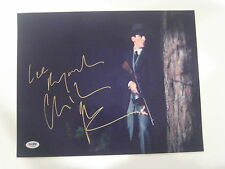 CHRISTIAN BALE Signed 11x14 PHOTO w/ PSA COA