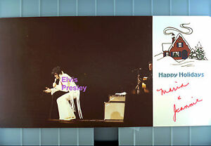 ELVIS-PRESLEY-CHRISTMAS-CARD-OLD-KODAK-PHOTO-WITH-ROUNDED-CORNERS-CANDID