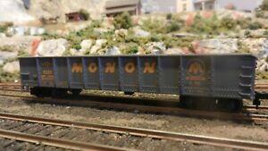 Mantua-Tyco-HO-Vintage-Die-Cast-Frame-Monon-40-039-Gondola-weathered-Exc