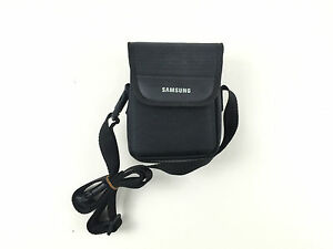 Extra Protective Black Padded Case For Samsung Galaxy Camera With Shoulder Strap