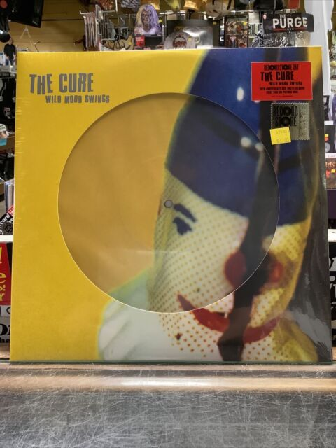 LP THE CURE Wild Mood Swings (2LP PICTURE Vinyl, RSD 2021) NEW MINT SEALED