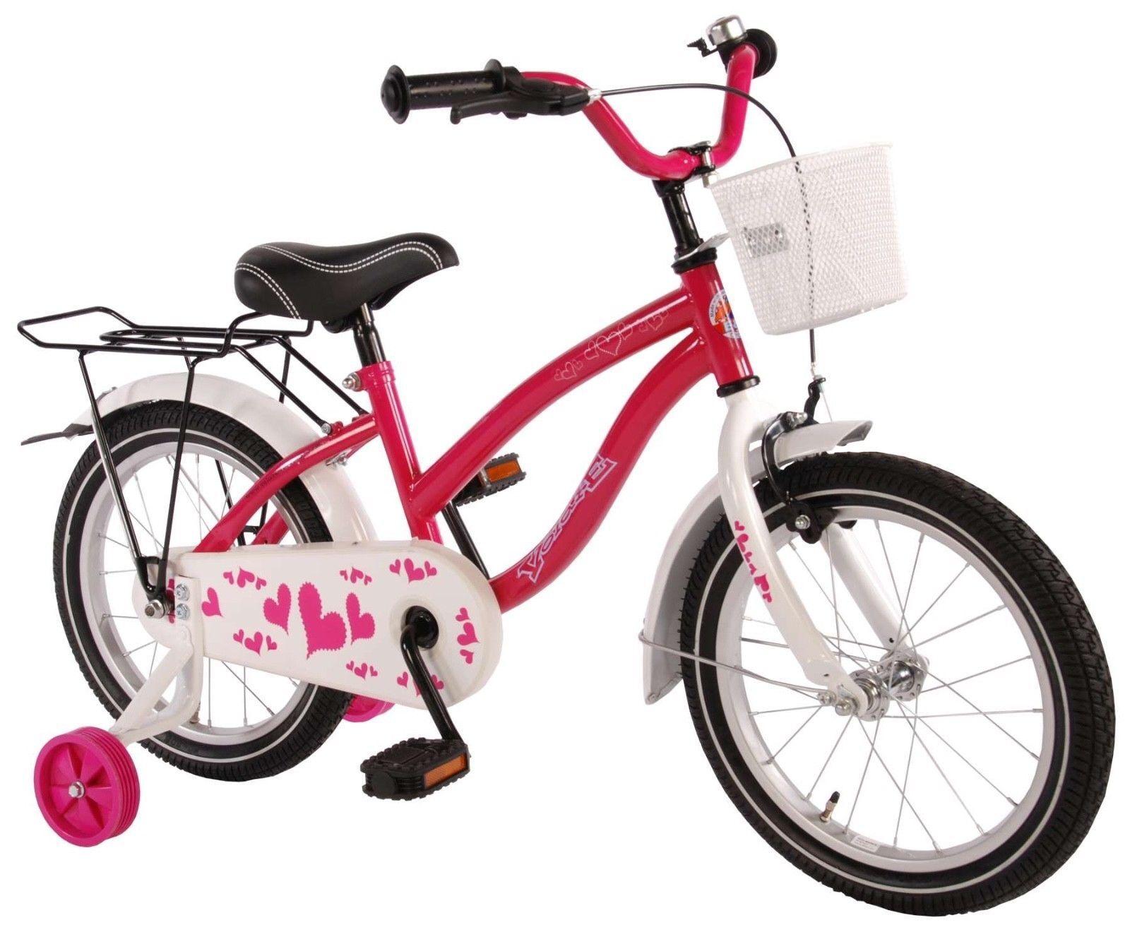 16 Zoll Fahrrad Rücktrittbremse Mädchenfahrrad Kinderfahrrad Kinderfahrrad Kinderfahrrad Mädchen Rosa 71600 5c623b