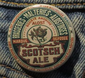 Pin Button Badge Ø38mm ( Ancienne bière - Bier - Beer ) ALOST #16 7Im3ASys-09162036-665245922