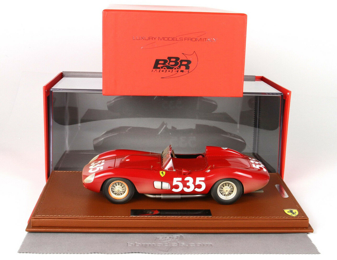 BBR - FERRARI 315 S - Winner Mille Miglia 57 -  End of Race  - BBRC1807ER - 1 18