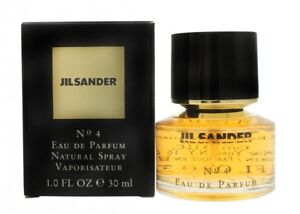e1a76b4c78239e JIL SANDER NO. 4 EAU DE PARFUM EDP 30ML SPRAY - WOMEN'S FOR HER. NEW ...