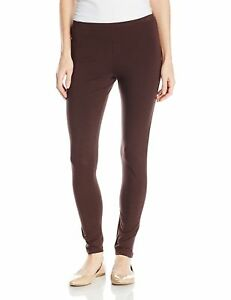 817fa77ce9f5d7 NWT- HUE - Ladies 95% Cotton Basic Pull-on Leggings, Expresso Brown ...