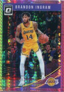 Details About 2018 19 Optic Prizms Hyper Pink Brandon Ingram New Orleans Pelicans B1339