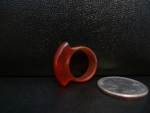 Vintage Red Jade Saddle Ring Size 6 !!!