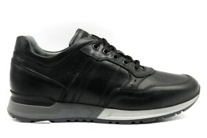 Scarpe-da-uomo-nero-giardini-A901190U-casual-sportive-taglia-40-pelle-basse