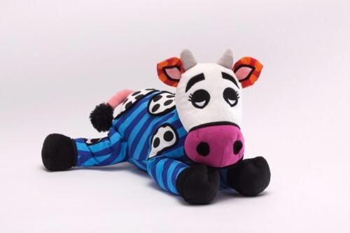 Romero Britto Plush Andy Cow Retired Pop Art Stuffed Animal 10 in Medium 4031650