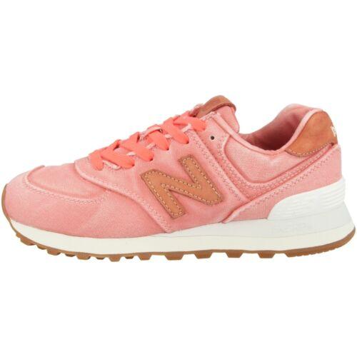 New Balance WL 574 WTR Schuhe Sneaker Schnürer tahitian pink marzipan WL574WTR
