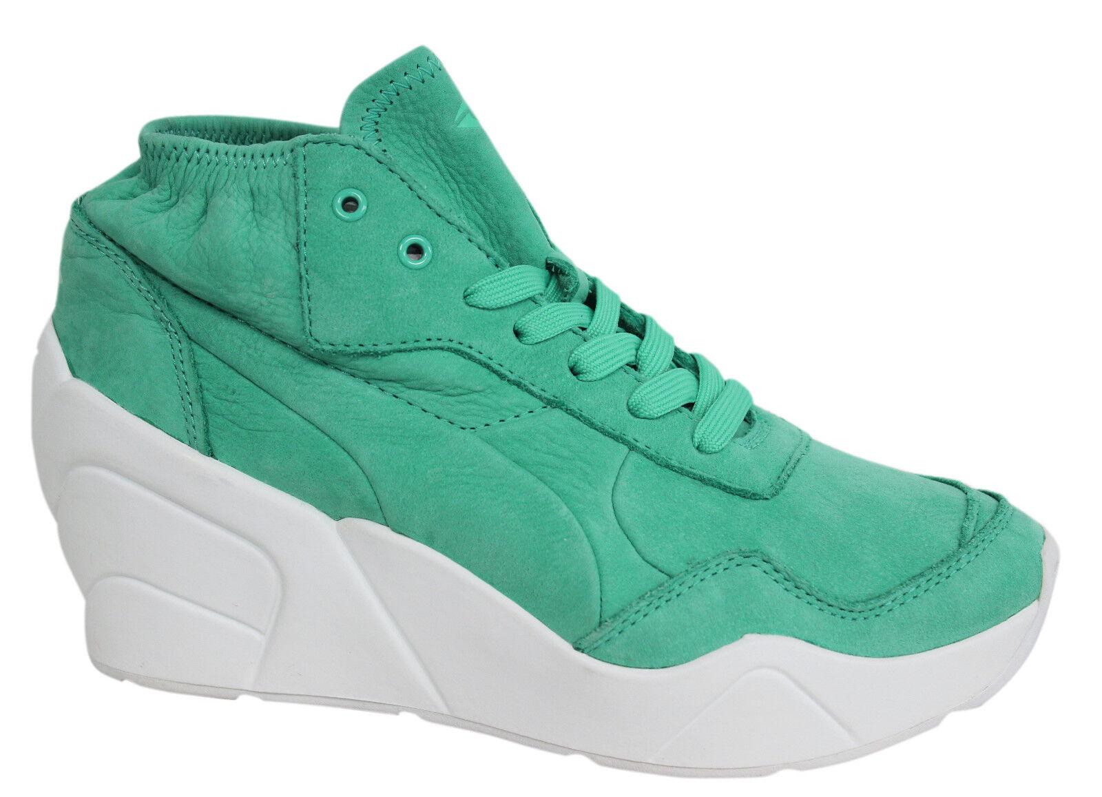 Puma Trinomic con Lacci verde verde verde Zeppa Scarpe da Ginnastica pelle Donna 356378 04 | Bella apparenza  3c336c