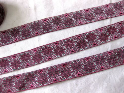 1m Borte in verschiedenen Farben B252 25mm breit
