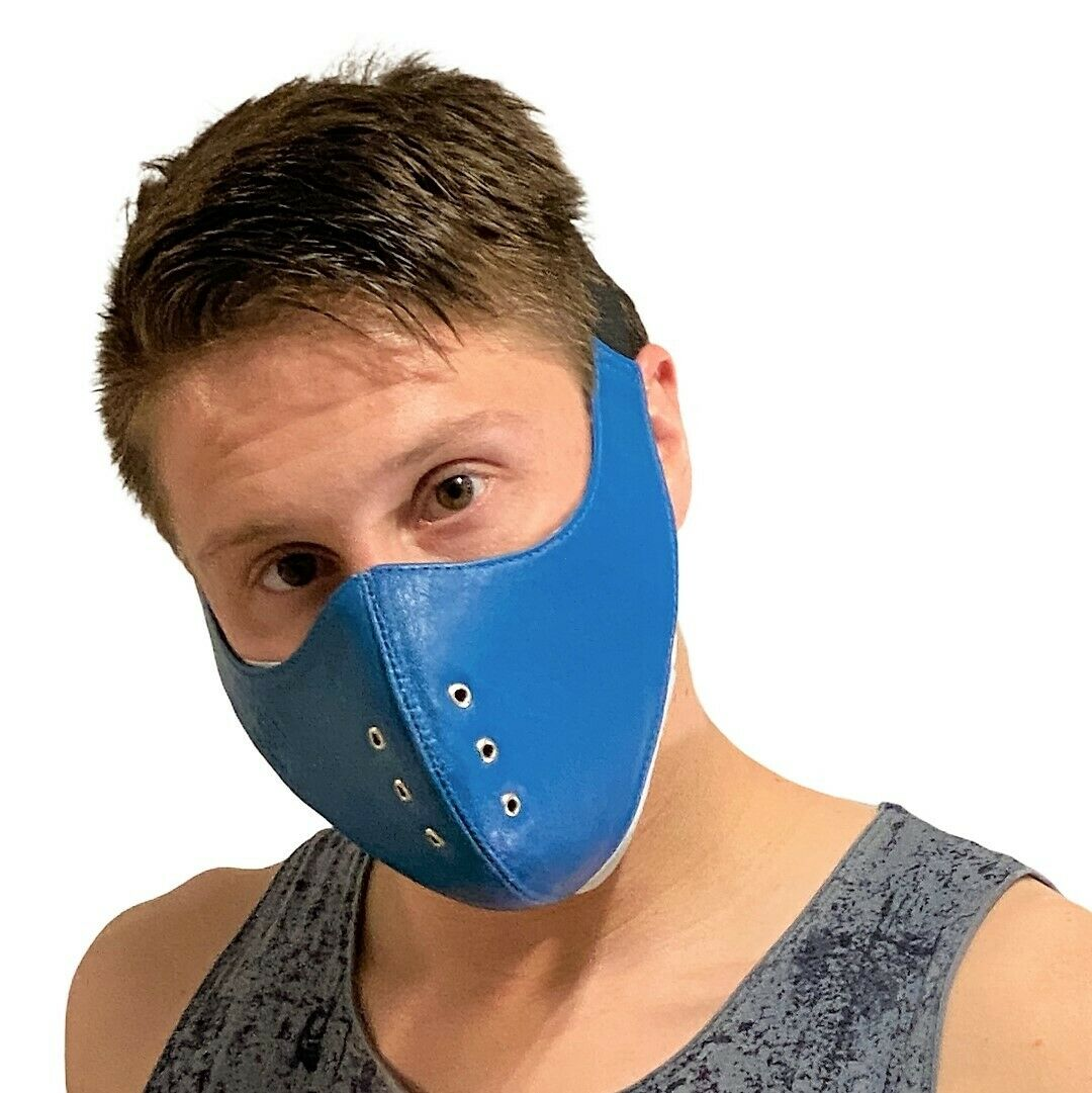 SMU Sexy Men Unisex Canadian Leather facial gear mask