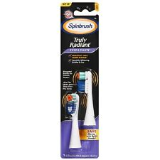 ARM - HAMMER Spinbrush Extra White Soft Replacement Brush Heads 2 ea