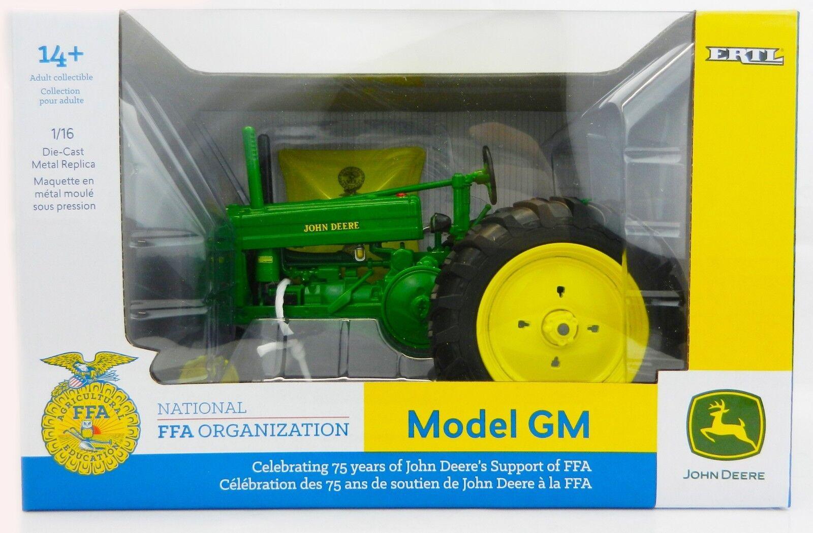 2018  FFA  ERTL 1 16 John Deere Modèle GM NF tracteur avec PARAPLUIE  Prestige  NEW IN BOX