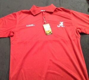 University Of Alabama Mens Crimson Polo Made Of Jersey Material