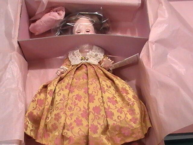 Nuevas enmiendas Madame Alexander Muñeca 1st Dama 12  Elizabeth Monroe 1505 comprado almacenados