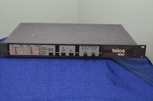 AgréAble Telos 100 Numérique Hybride 05-25-00146 Made In Usa Audio Mixer Interface-afficher Le Titre D'origine