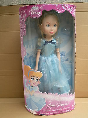 "50cm Bright Disney Princess Cinderella Xxl Big 20"" Girl Doll Zapf Creation Bnib High Quality And Inexpensive"