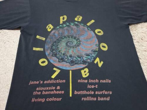 LOLLAPALOOZA - 1st Year 1991 - RARE Vintage Tshirt