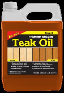 Star brite Premium Golden Teak Oil 85100 3785 ml