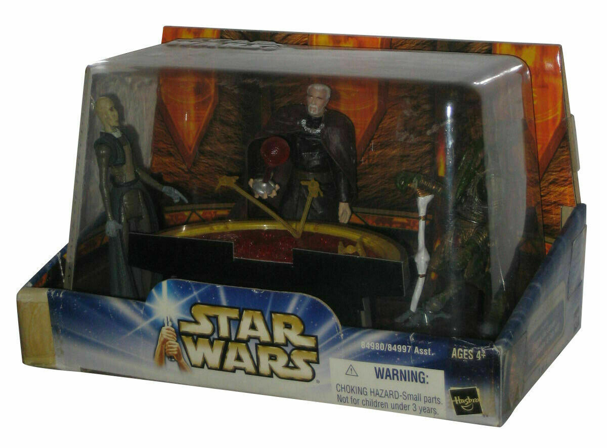 Star Wars geonosian geonosian geonosian war chamber- dooku san hill + poggle the lesser 067ba4