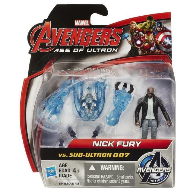 Marvel Avengers Age of Ultron Nick Fury vs Sub-Ultron 007 Action Figure