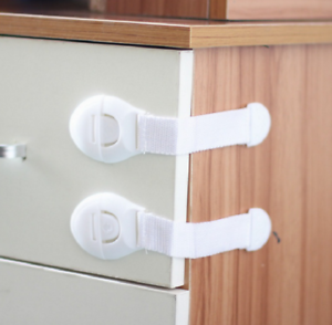 Cabinet Drawers  Pet Proof Door Fridge Cupboard  Anti Lock Straps For Kids Baby